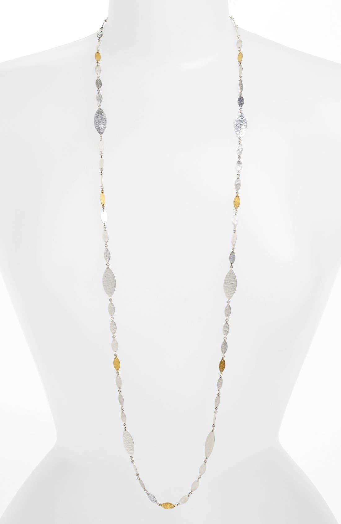 Alternate Image 1 Selected - Gurhan 'Willow' Long Leaf Station Necklace