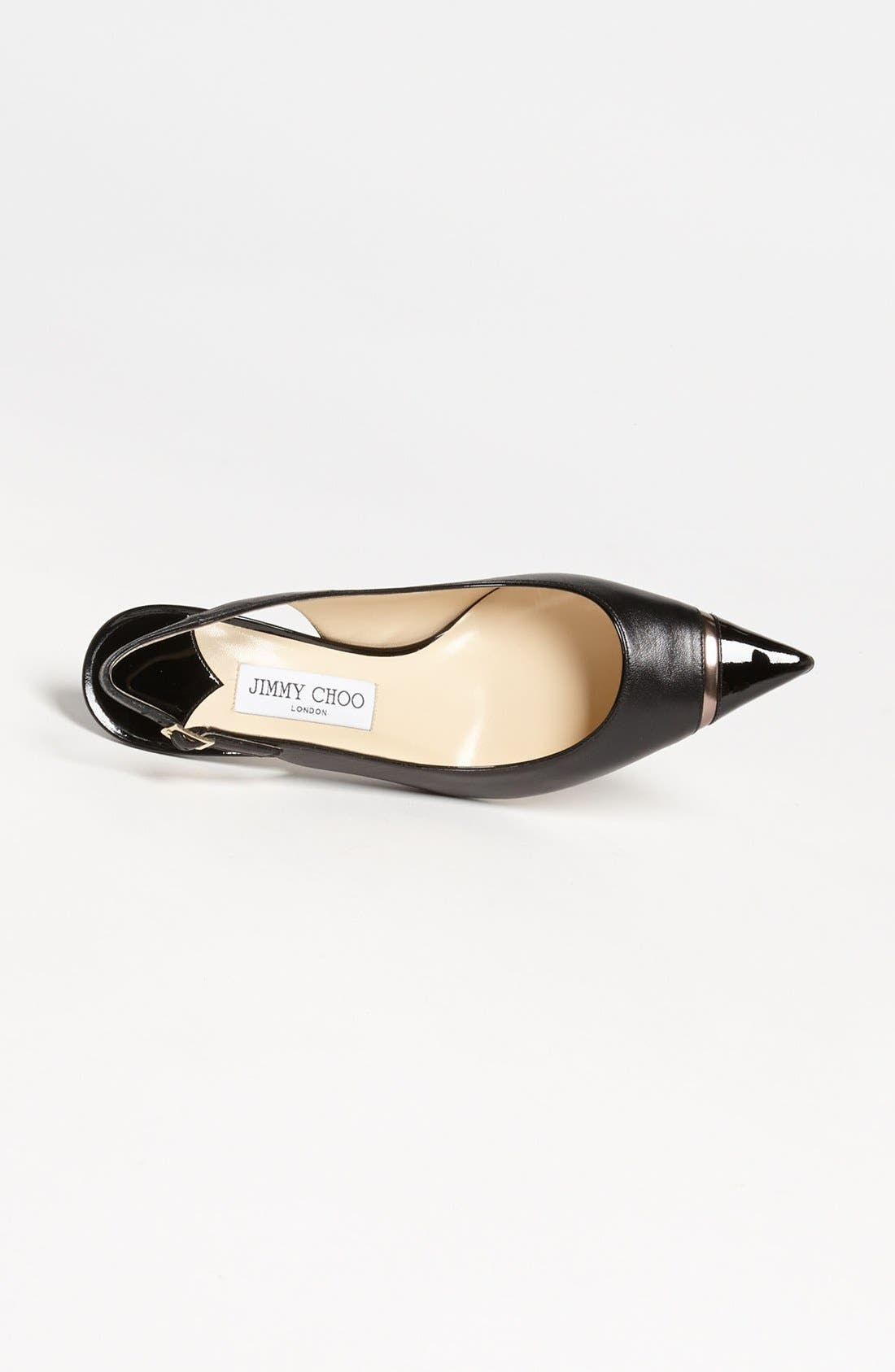 Alternate Image 3  - Jimmy Choo 'Laurel' Cap Toe Slingback Pump