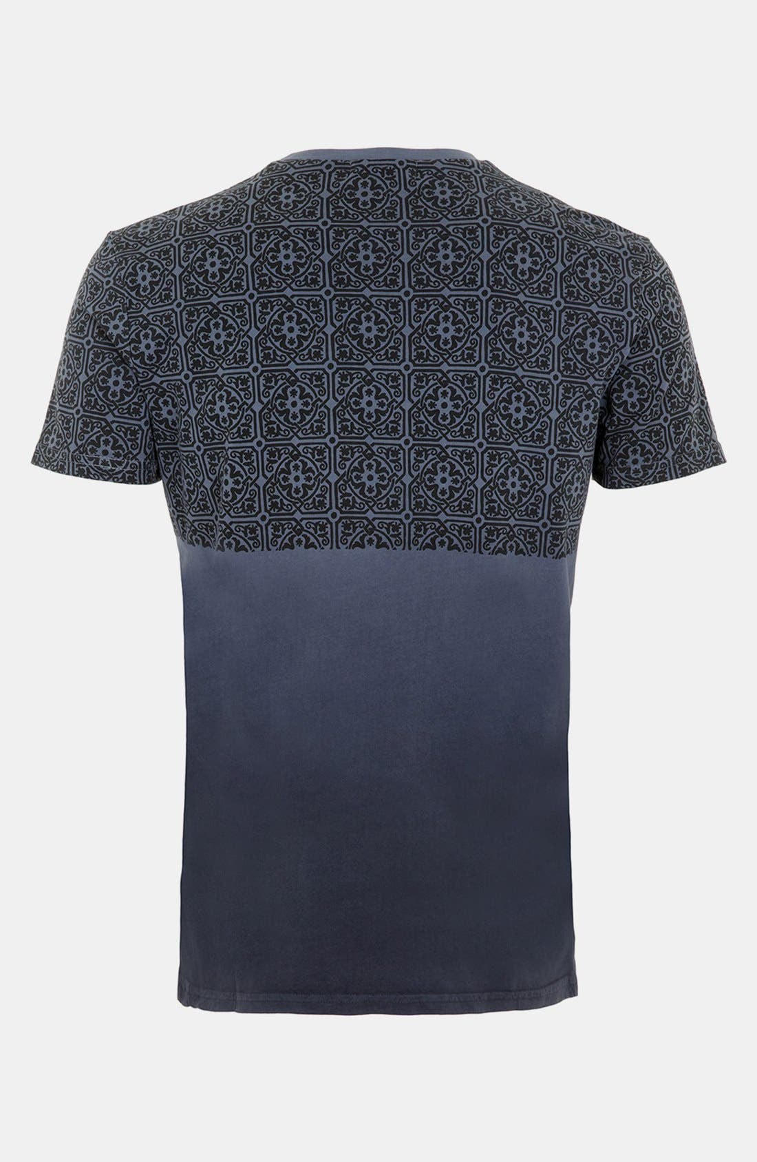 Alternate Image 2  - Topman Dip Dye T-Shirt