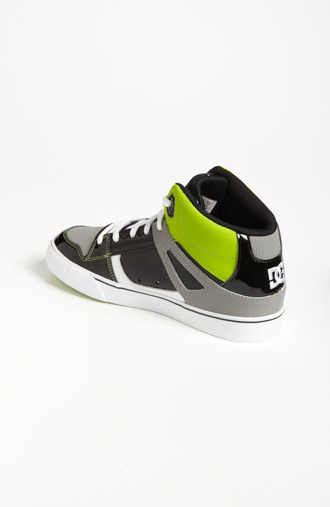 Alternate Image 2  - DC Shoes 'Spartan - Hi' Skate Shoe (Little Kid & Big Kid)
