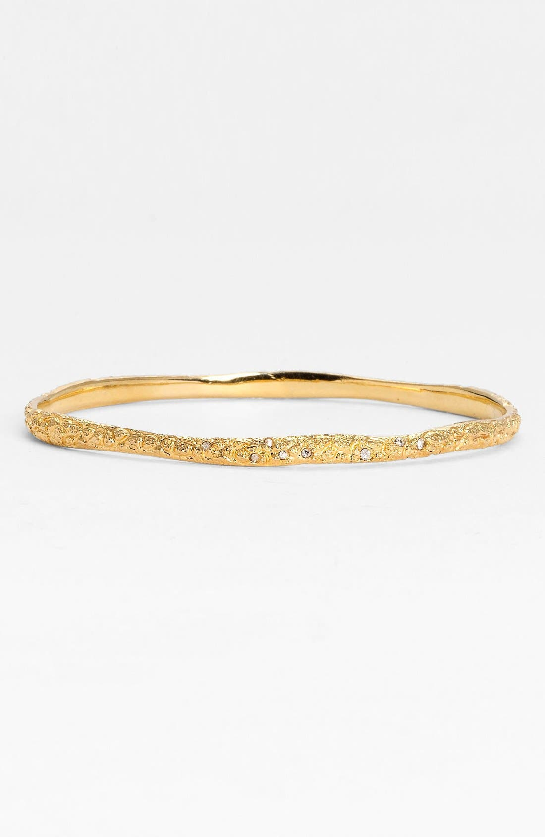 Alternate Image 1 Selected - Alexis Bittar 'Miss Havisham - Liquid Gold' Skinny Bangle