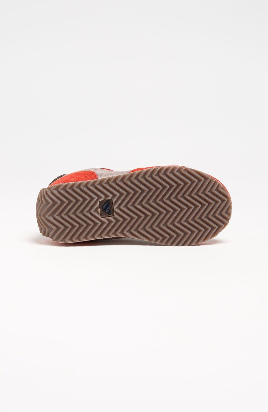 Alternate Image 4  - Armani Junior Sneaker (Walker & Toddler)