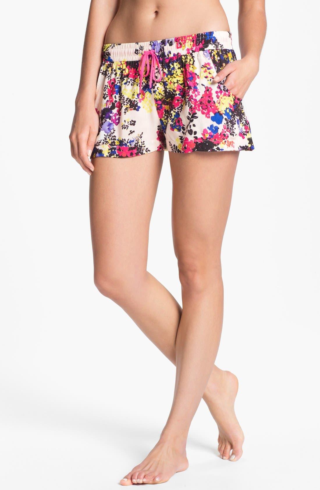 Main Image - kensie 'Sunset Beach' Boxer Shorts