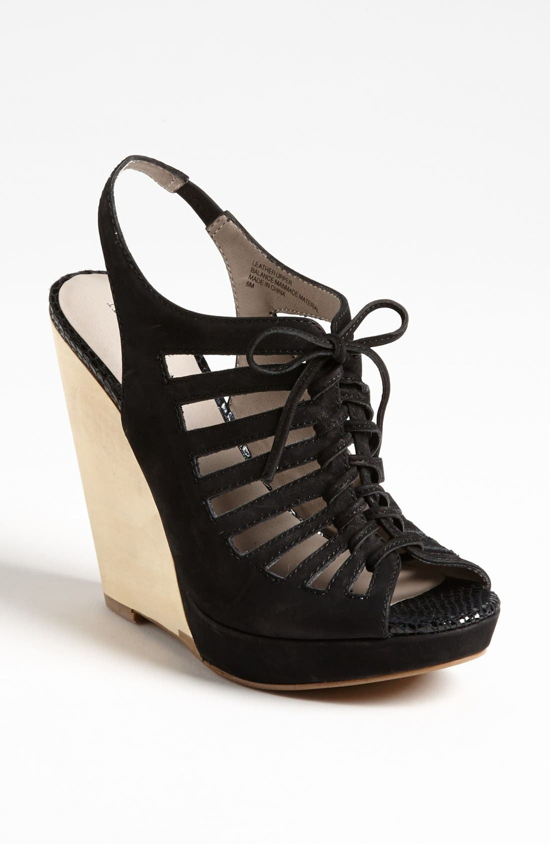 Alternate Image 1 Selected - Hinge® 'Saydee' Wedge Sandal