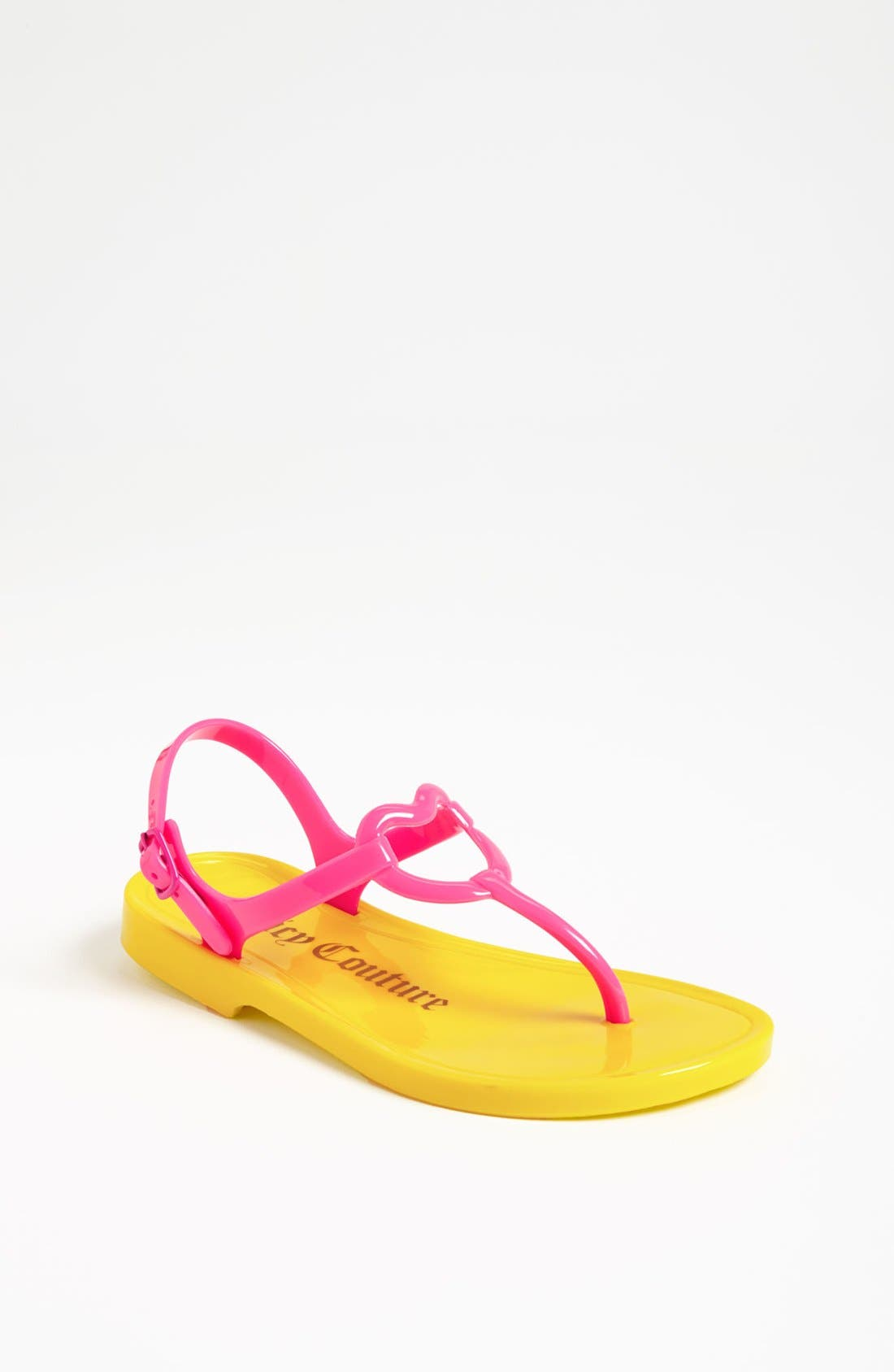 Alternate Image 1 Selected - Juicy Couture 'Rory' Sandal (Toddler, Little Kid & Big Kid)