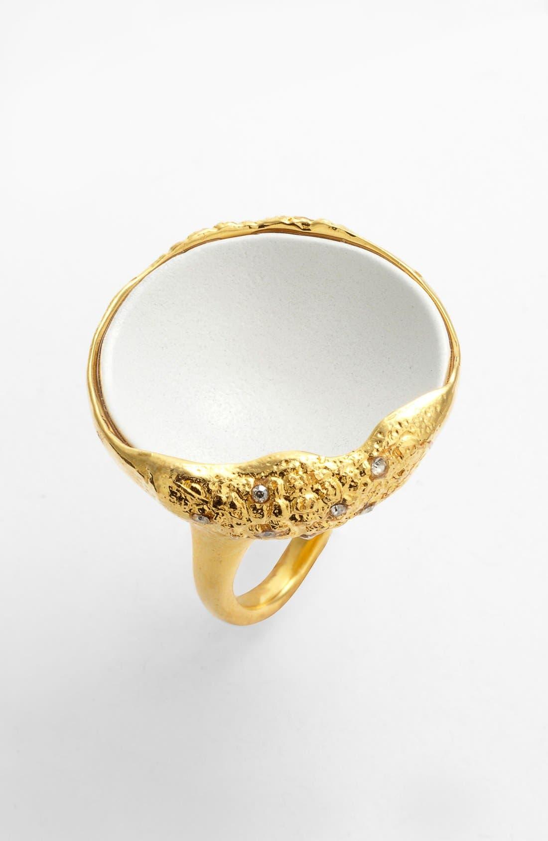 Main Image - Alexis Bittar 'Miss Havisham - Liquid Gold' Concave Ring