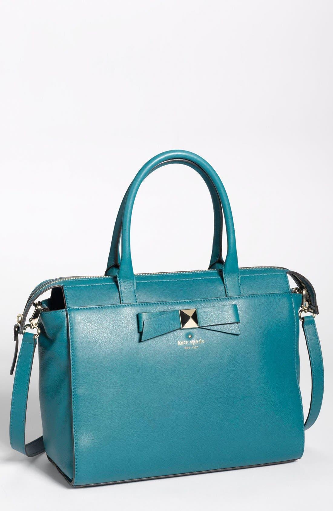 Alternate Image 1 Selected - kate spade new york 'hancock park - jeanne' leather satchel, medium