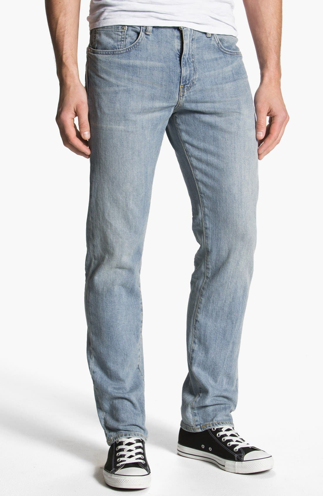 Alternate Image 2  - Levi's® '513™' Slim Fit Jeans (Light Breeze)