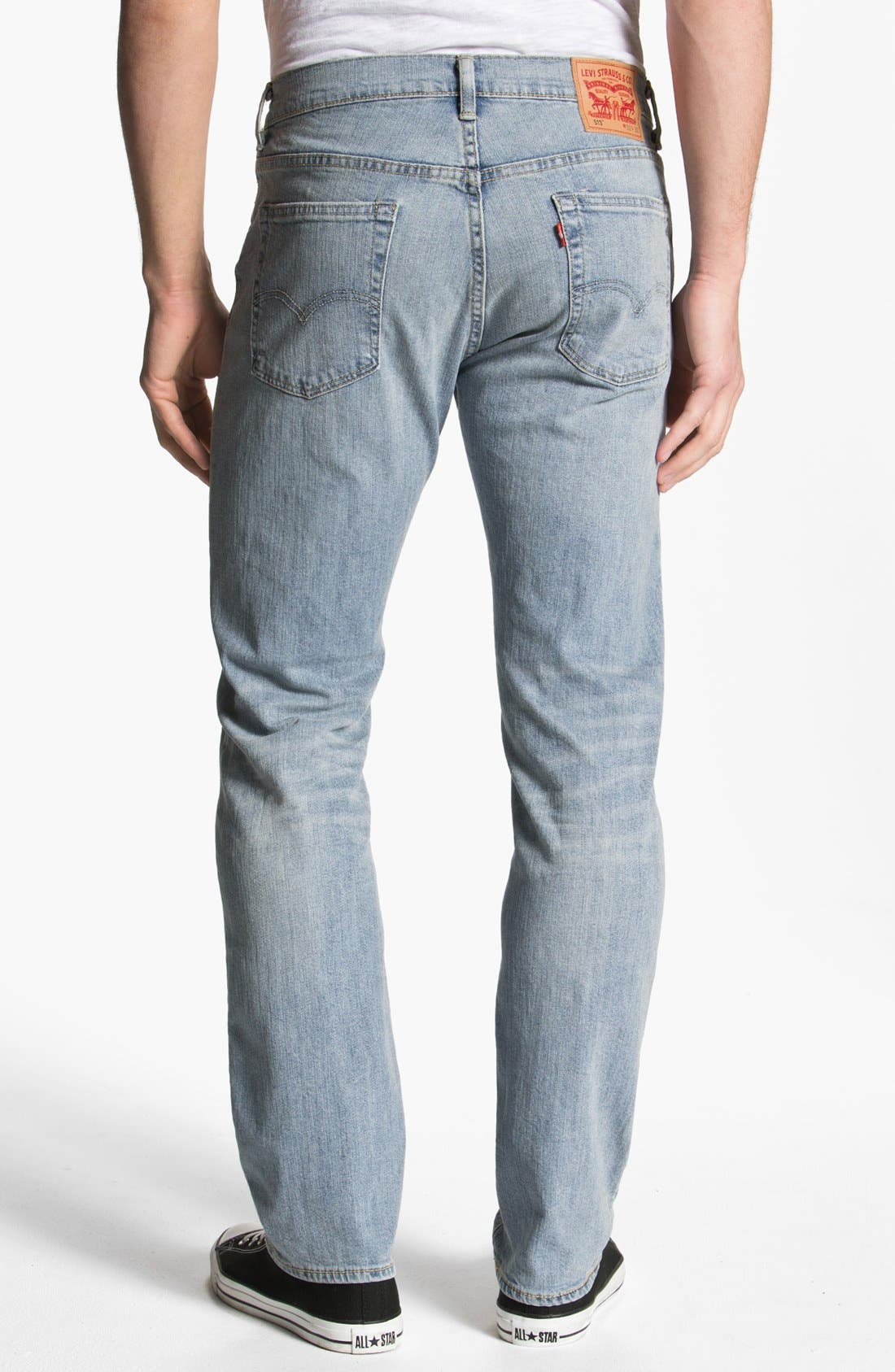 Alternate Image 1 Selected - Levi's® '513™' Slim Fit Jeans (Light Breeze)