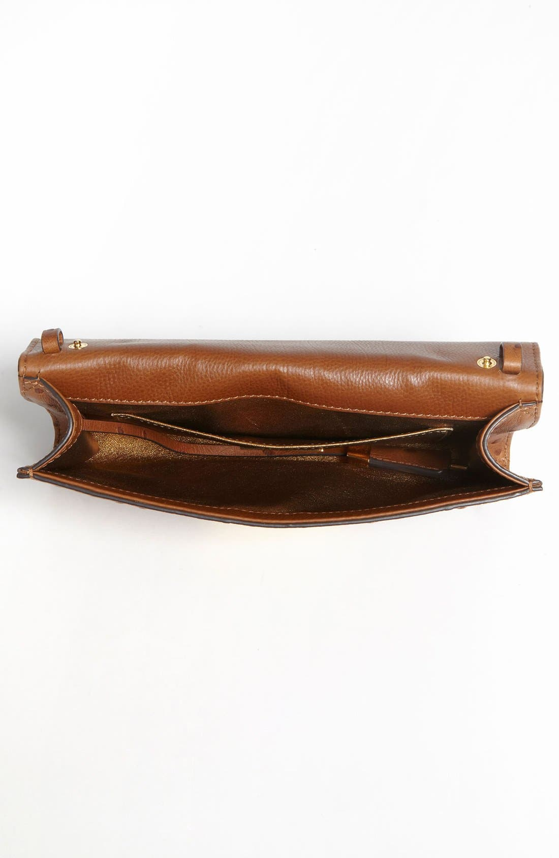 Alternate Image 2  - Michael Kors 'Gia' Ostrich Embossed Leather Clutch