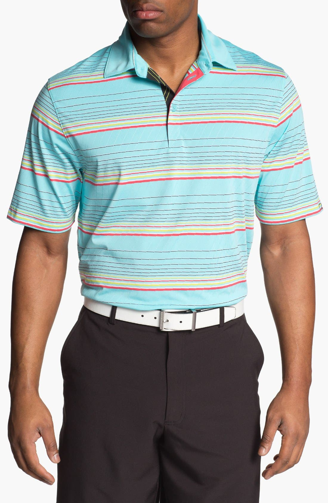 Alternate Image 1 Selected - Cutter & Buck 'Barion Stripe' DryTec Polo