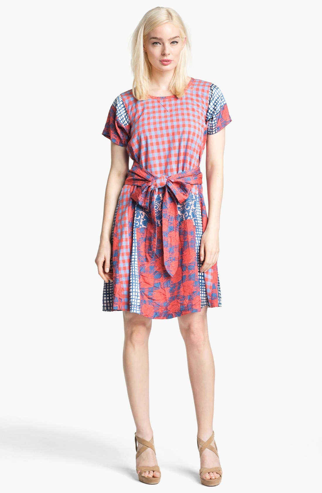 Alternate Image 1 Selected - MARC BY MARC JACOBS 'Molly' Cotton & Silk Dress