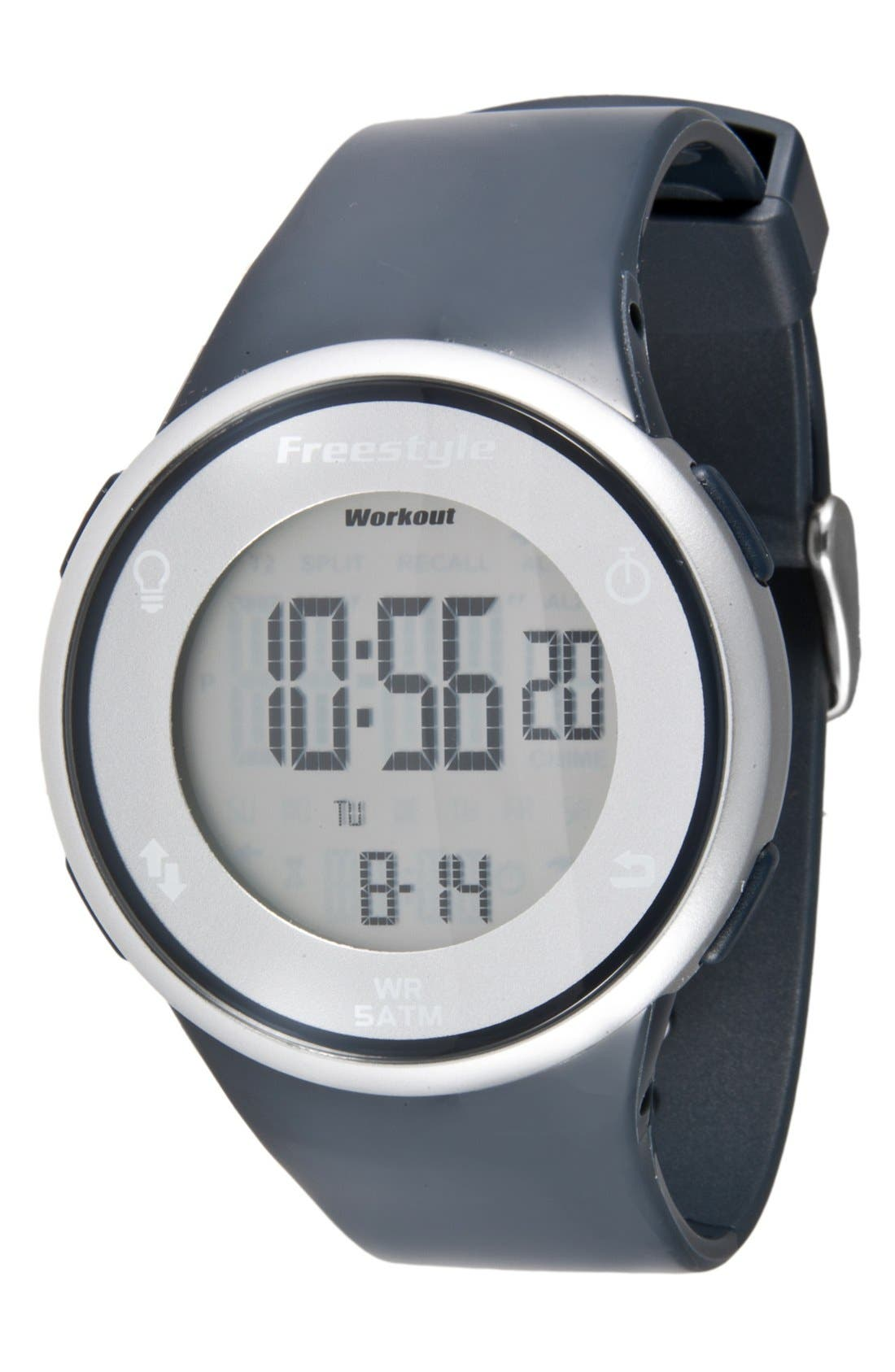 Alternate Image 1 Selected - Freestyle 'Sprint' Digital Fitness Watch, 45mm