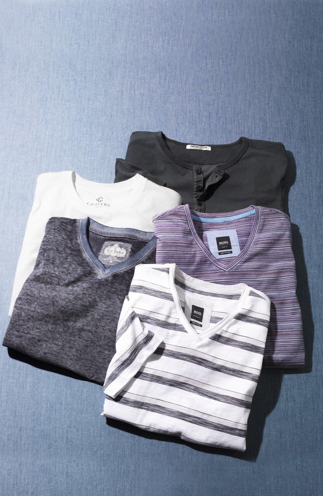 Alternate Image 4  - BOSS HUGO BOSS 'Canistro' V-Neck T-Shirt