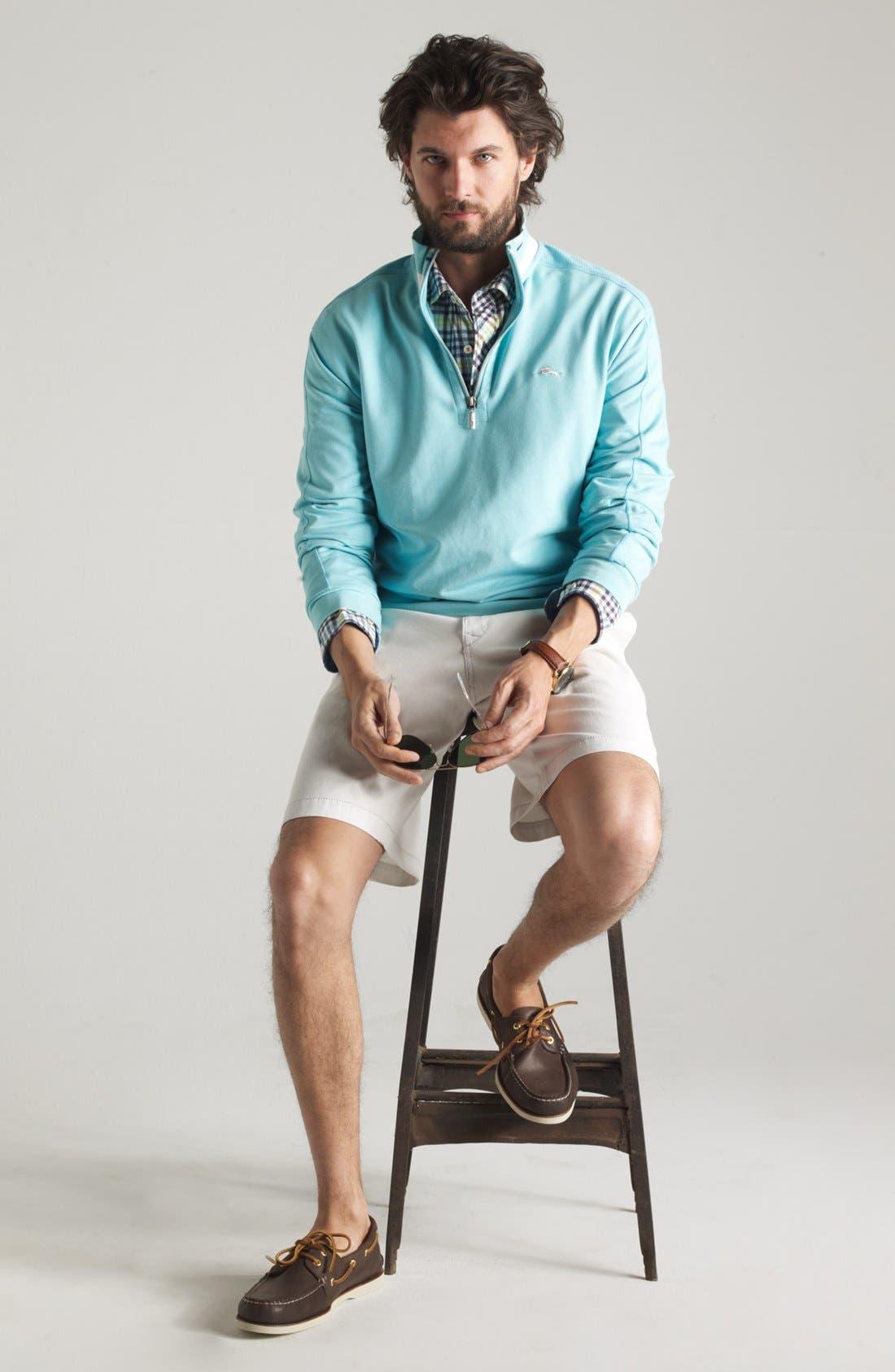 Alternate Image 6  - Tommy Bahama Denim 'Ole Oxford' Regular Fit Sport Shirt