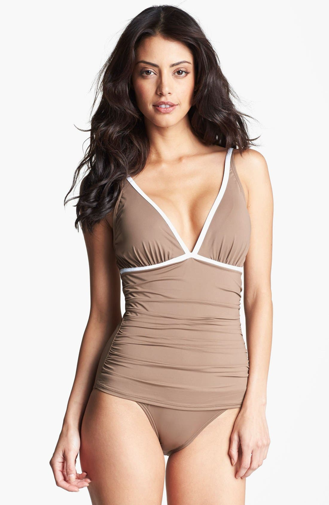 Alternate Image 1 Selected - Tommy Bahama One Piece Swimsuit