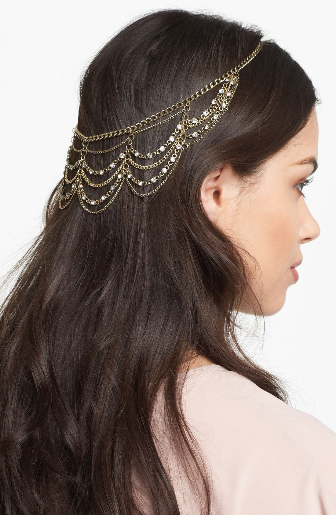 Alternate Image 1 Selected - Orion 'Empress' Chain Head Wrap