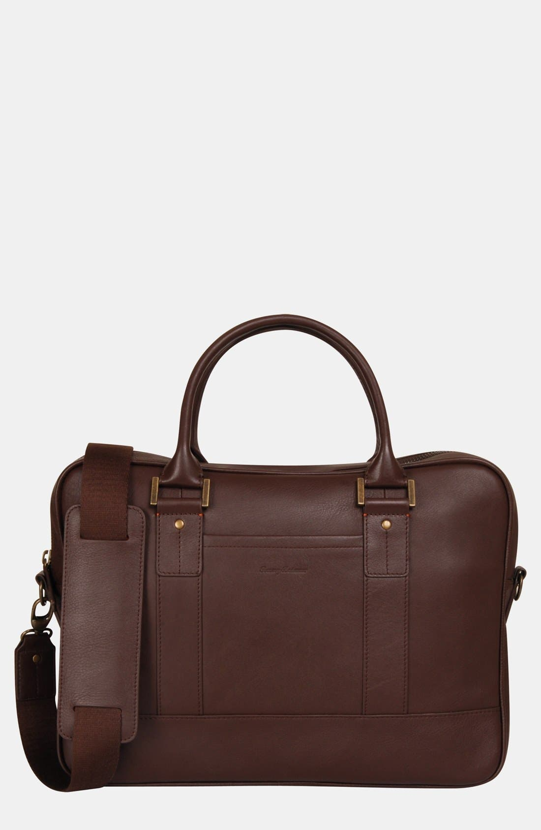 Alternate Image 1 Selected - Tommy Bahama Leather Briefcase