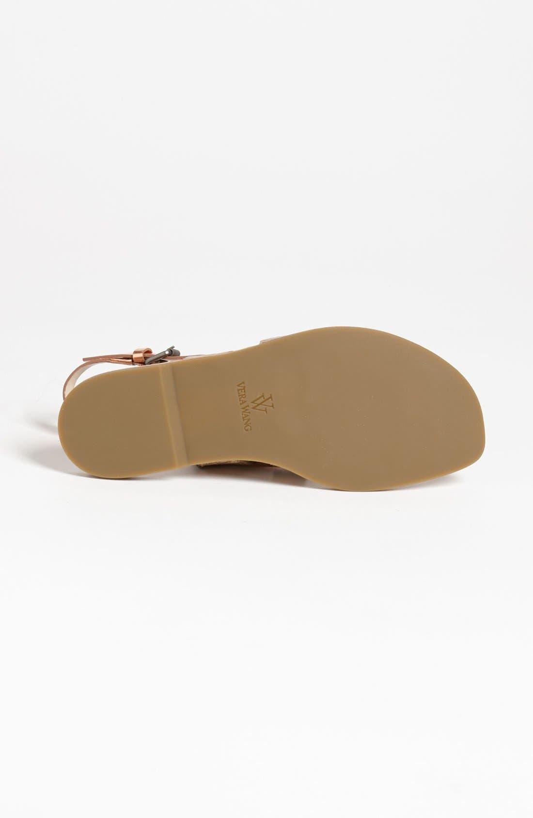 Alternate Image 4  - Vera Wang Footwear 'Annie' Flat Sandal (Online Only)