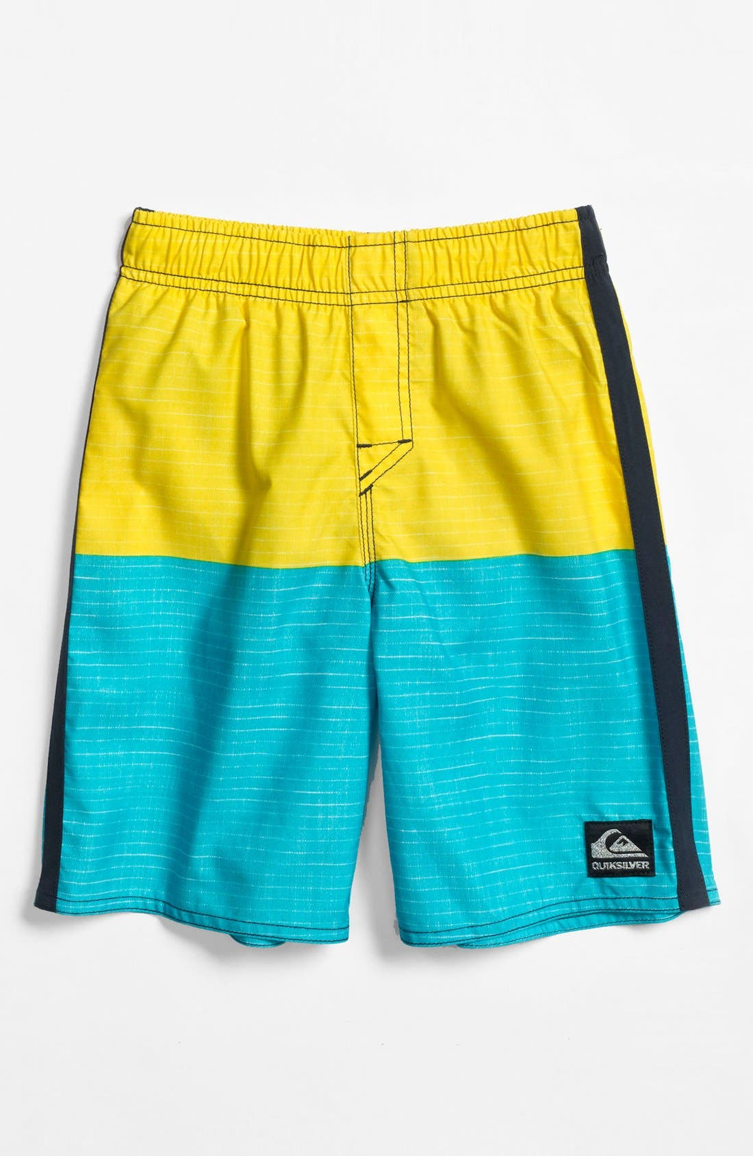 Main Image - Quiksilver 'Magic Fish Water Change' Volley Shorts (Little Boys)