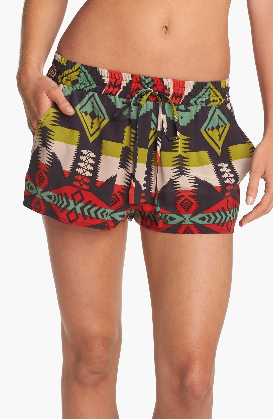 Alternate Image 1 Selected - LFV by La Fee Verte Silk Shorts