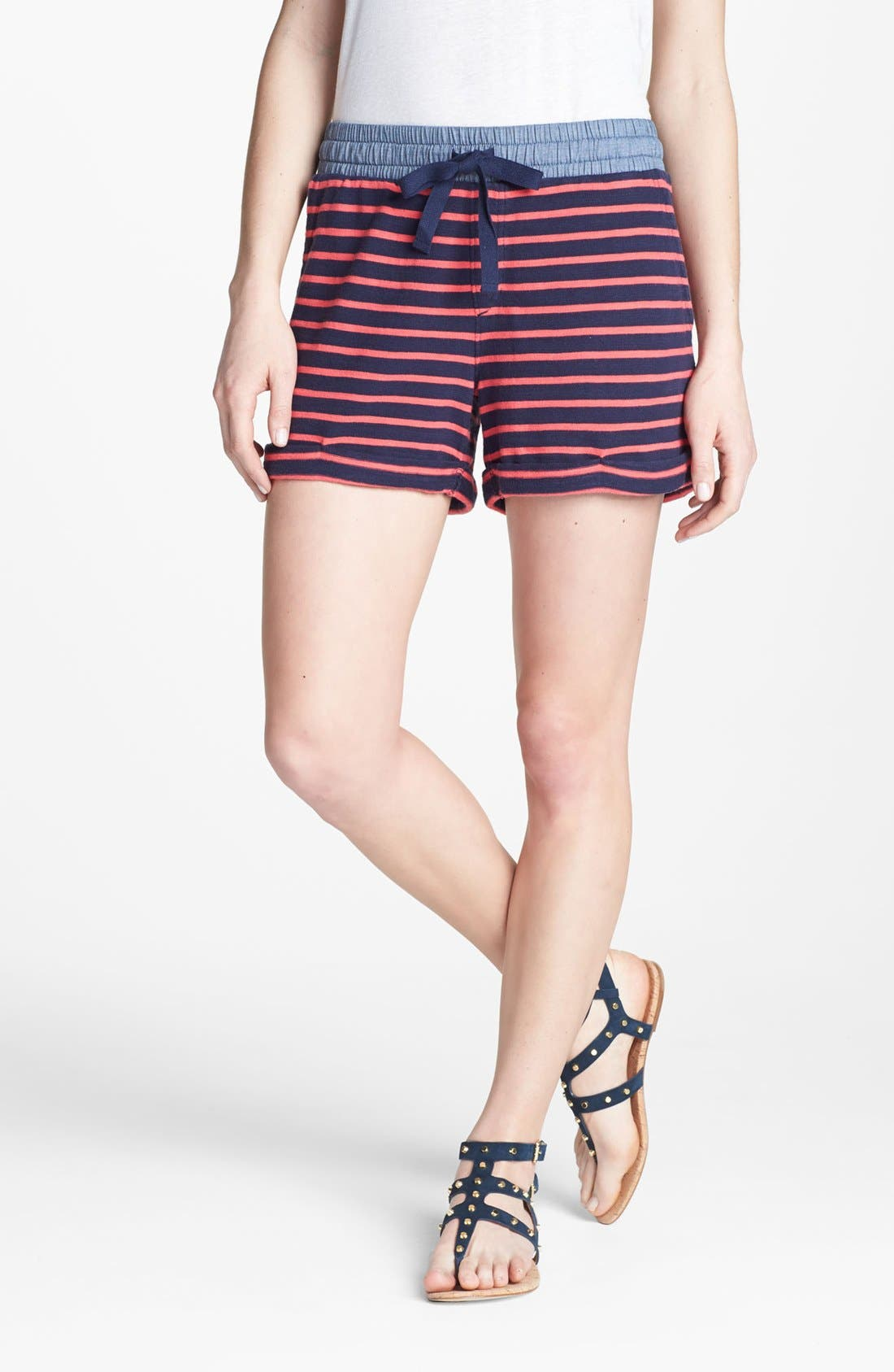 Alternate Image 1 Selected - Caslon® Cuff Knit Shorts