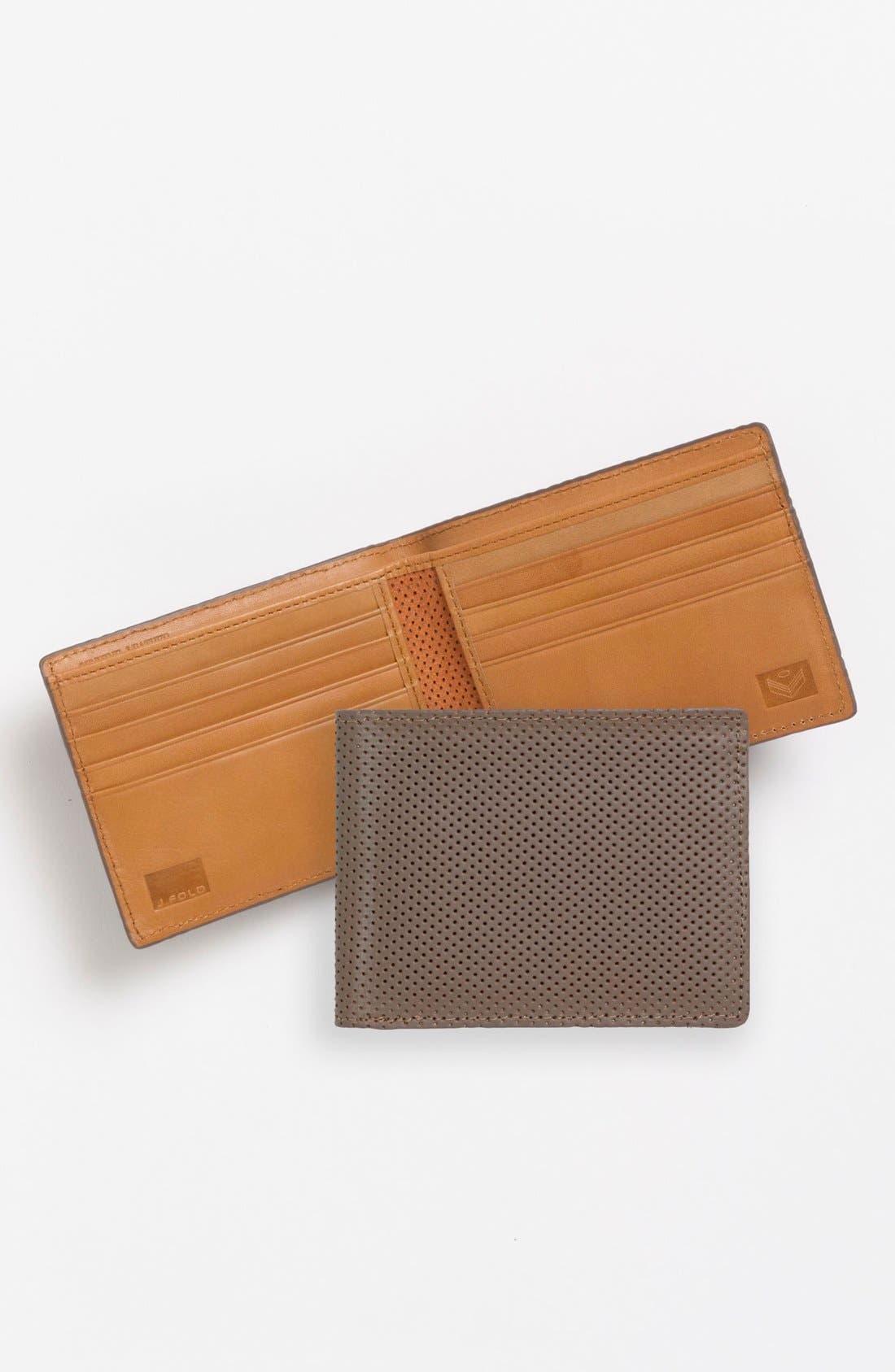Alternate Image 1 Selected - J Fold 'Microperf' Slimfold Wallet