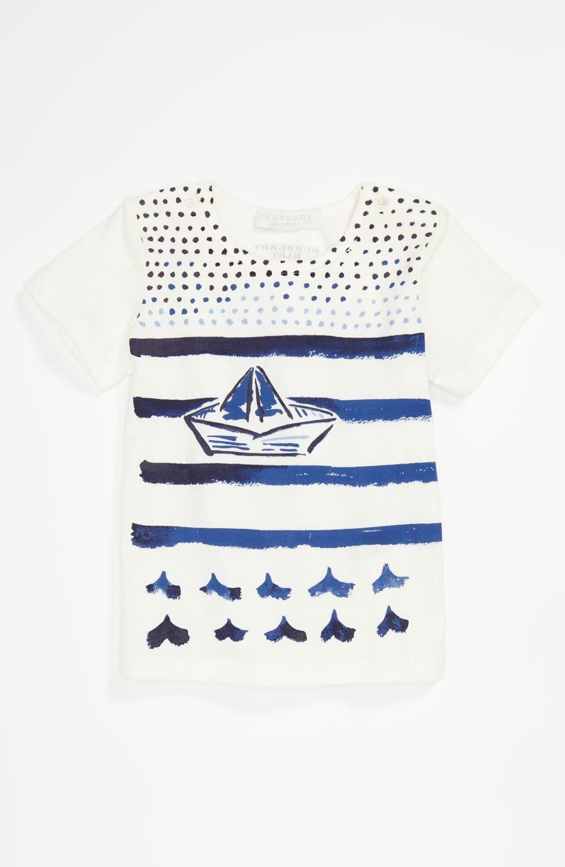 Main Image - Burberry 'Mini Bato' T-Shirt (Toddler)