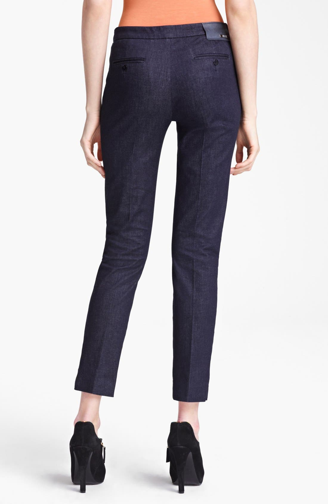 Alternate Image 2  - Armani Collezioni Narrow Leg Stretch Jeans