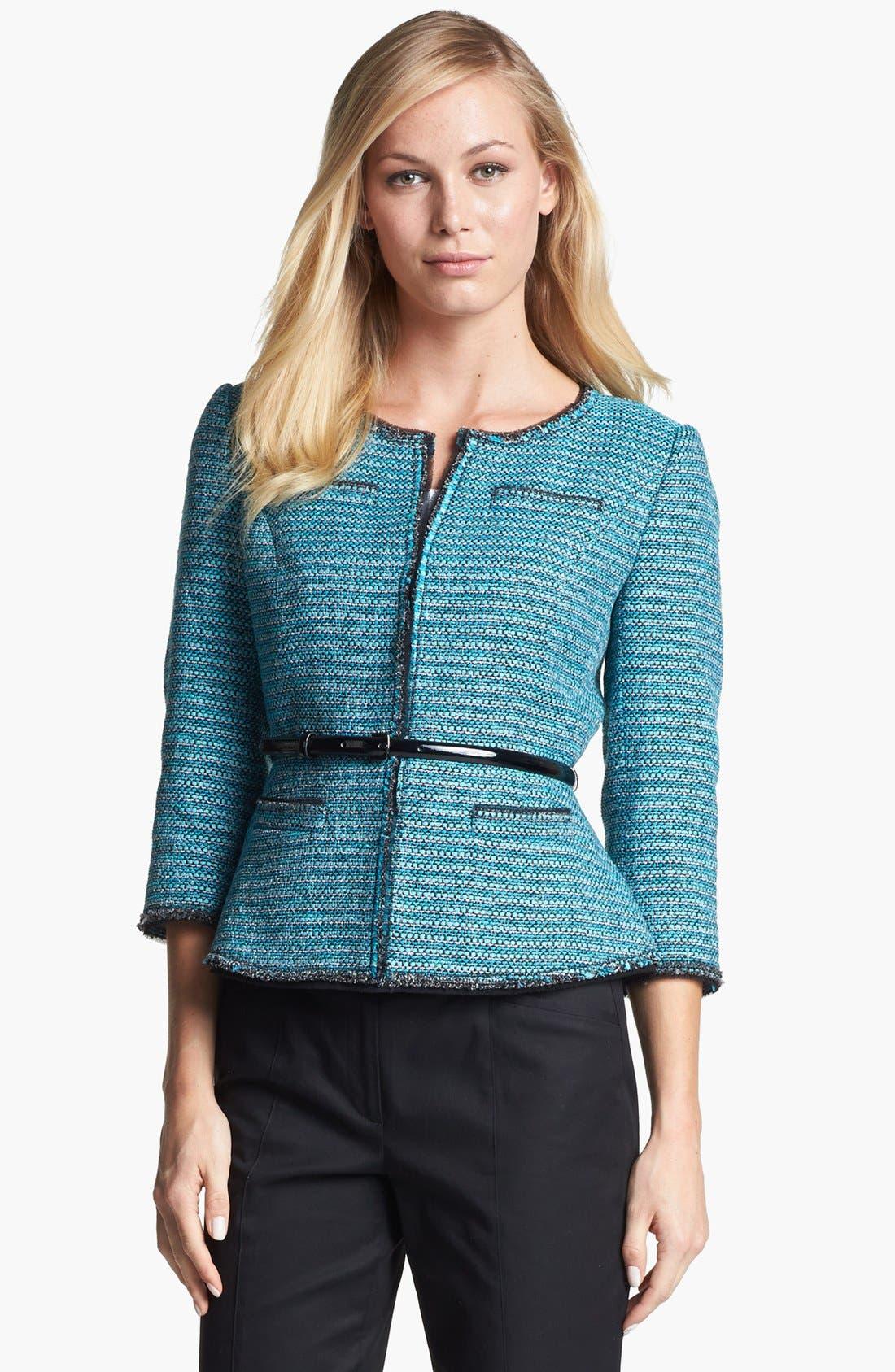 Main Image - Classiques Entier® 'Adona' Tweed Jacket
