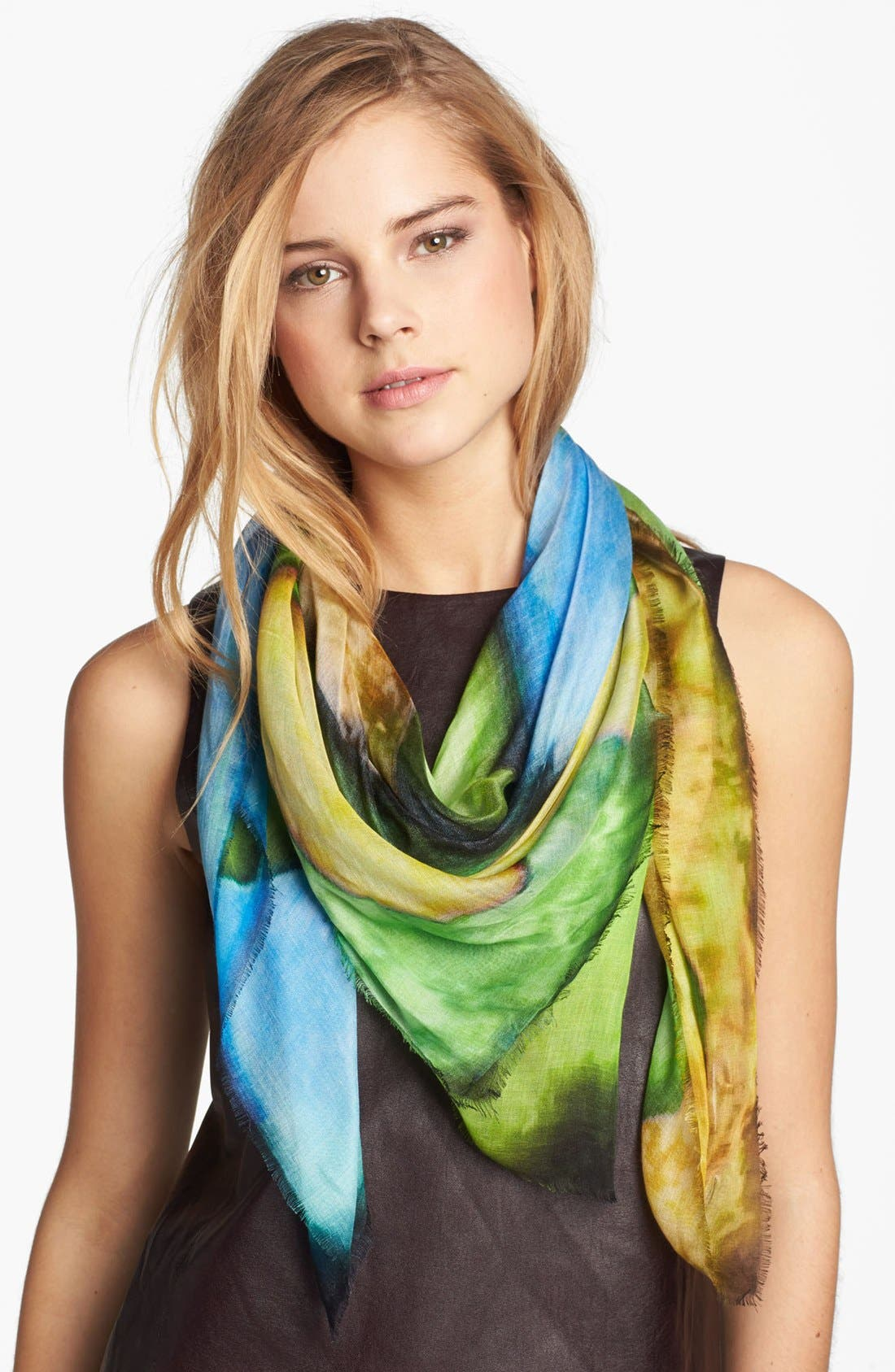 Alternate Image 1 Selected - Nordstrom 'Cards' Scarf