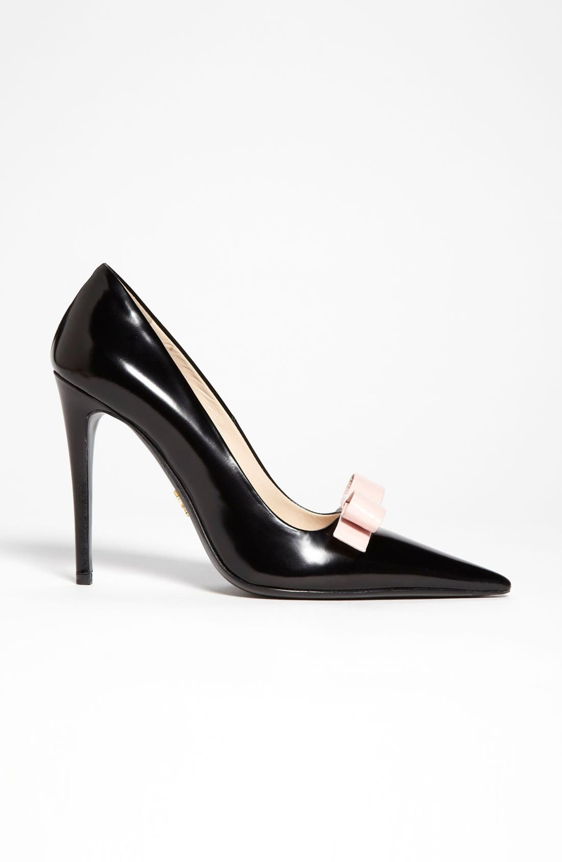 Alternate Image 4  - Prada Bow Pointy Toe Pump