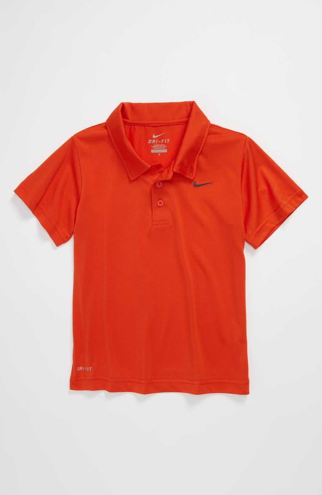 Main Image - Nike Dri-FIT Polo (Little Boys)