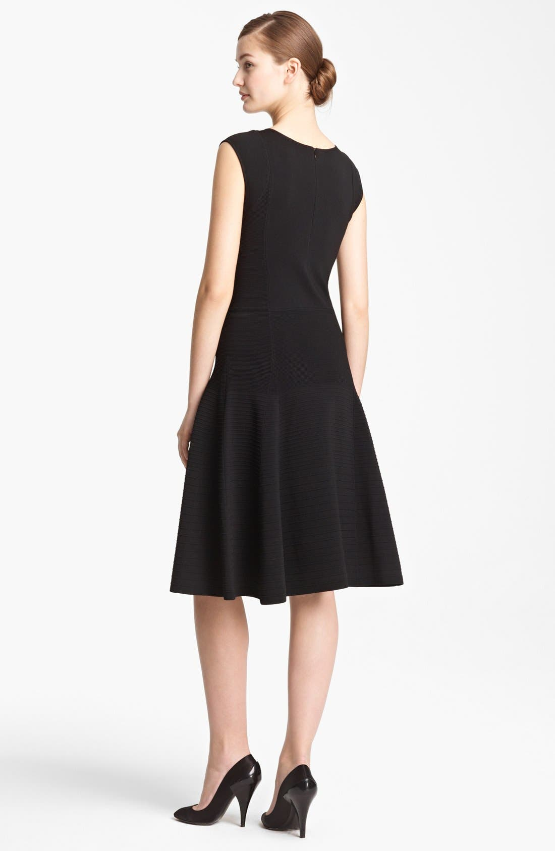 Alternate Image 2  - Donna Karan Collection Ottoman Stitch Dress