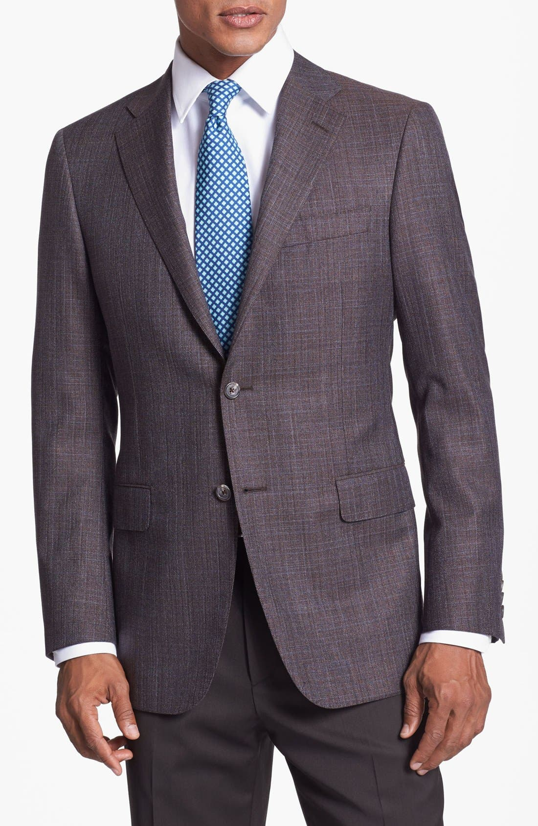 Main Image - Hickey Freeman Wool Blend Sportcoat