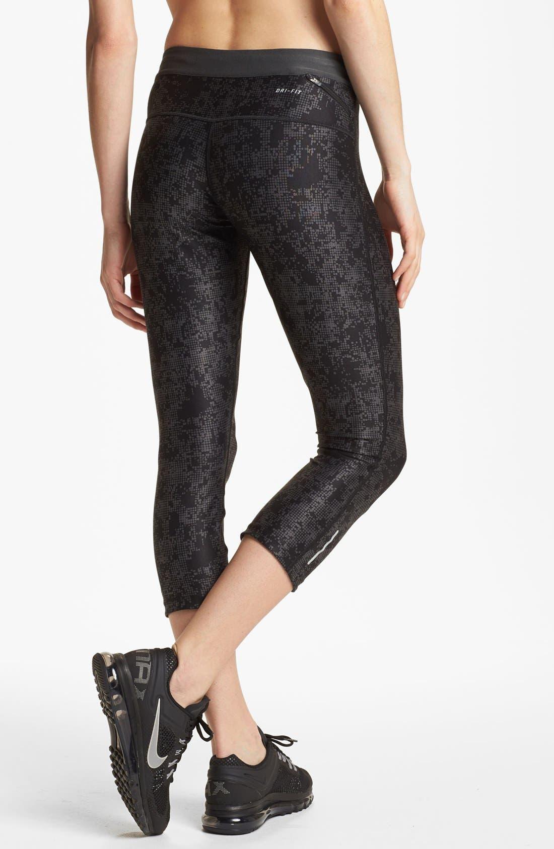 Alternate Image 2  - Nike 'Relay' Print Capri Pants