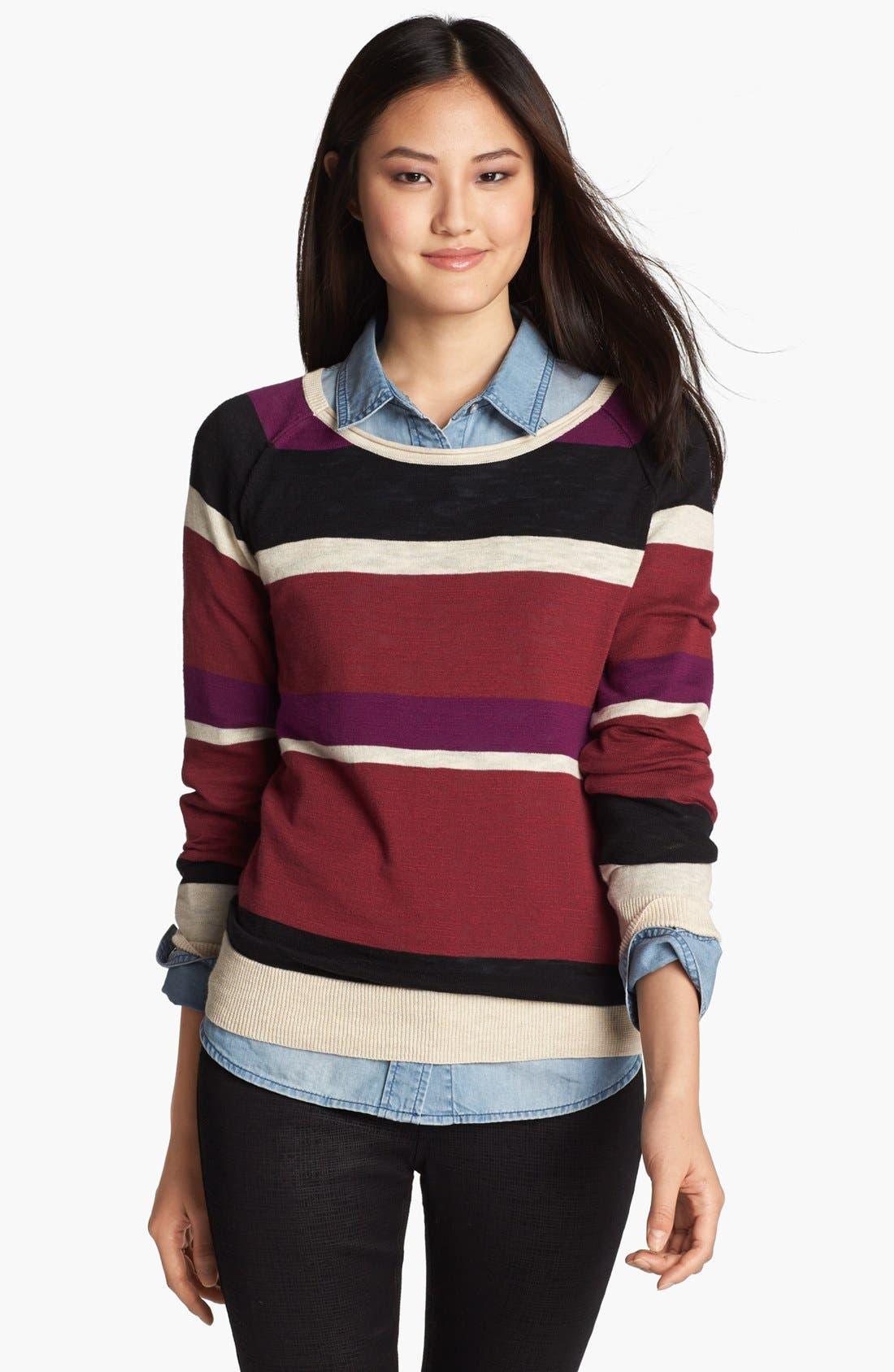 Alternate Image 1 Selected - Halogen® Novelty Sweater
