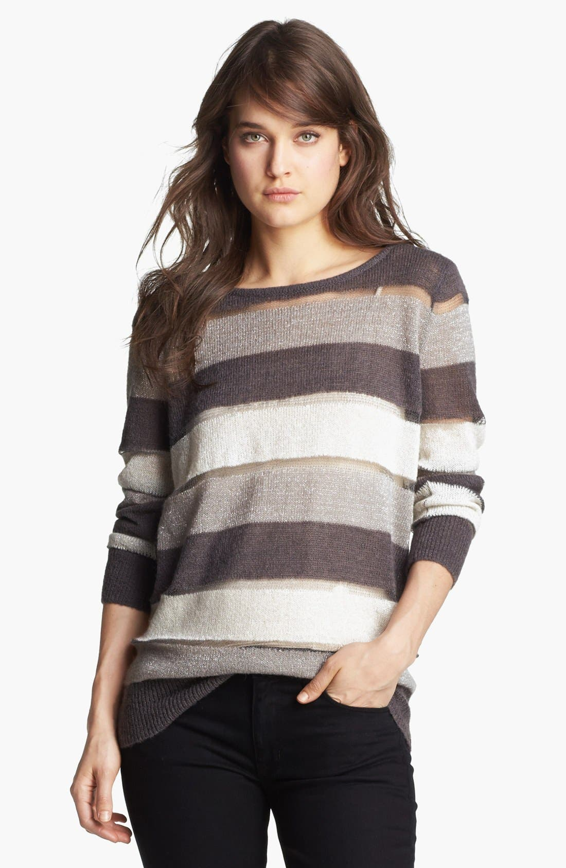 Alternate Image 1 Selected - Hinge® Bow Back Sweater