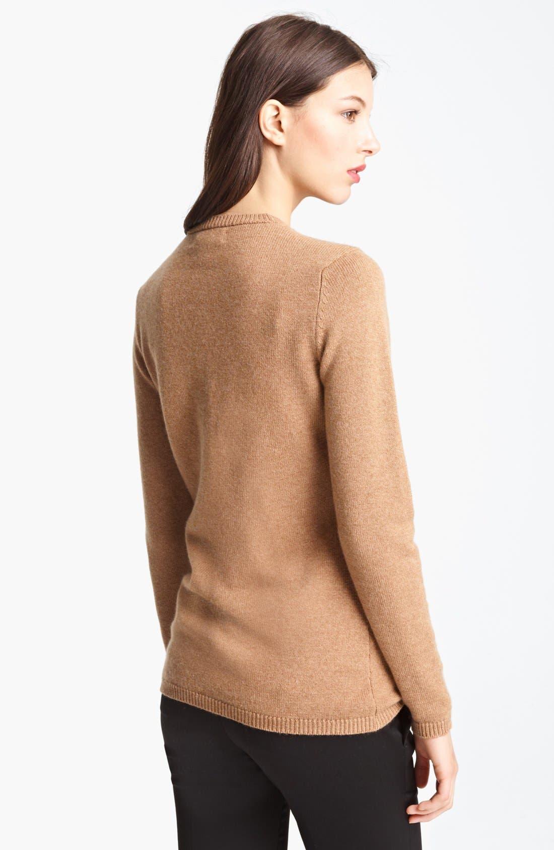 Alternate Image 2  - Burberry Prorsum Soldier Cashmere Sweater