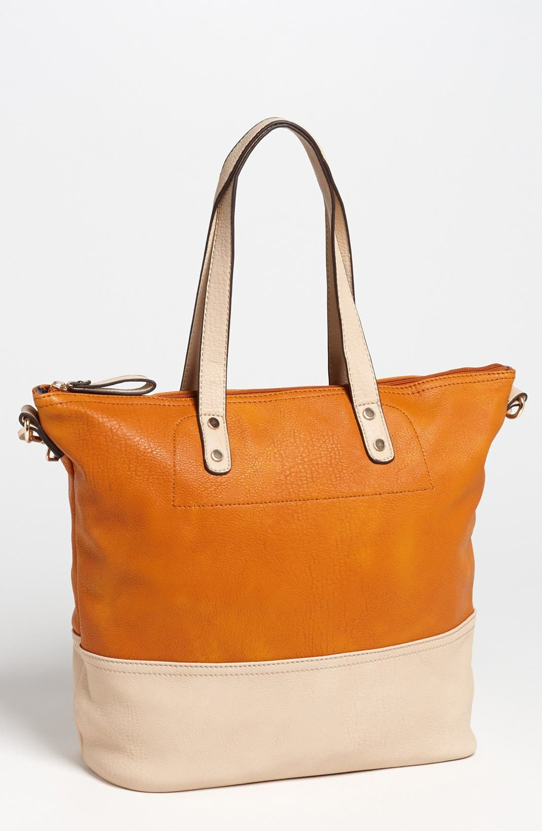 Alternate Image 4  - Emperia Color Block Faux Leather Tote