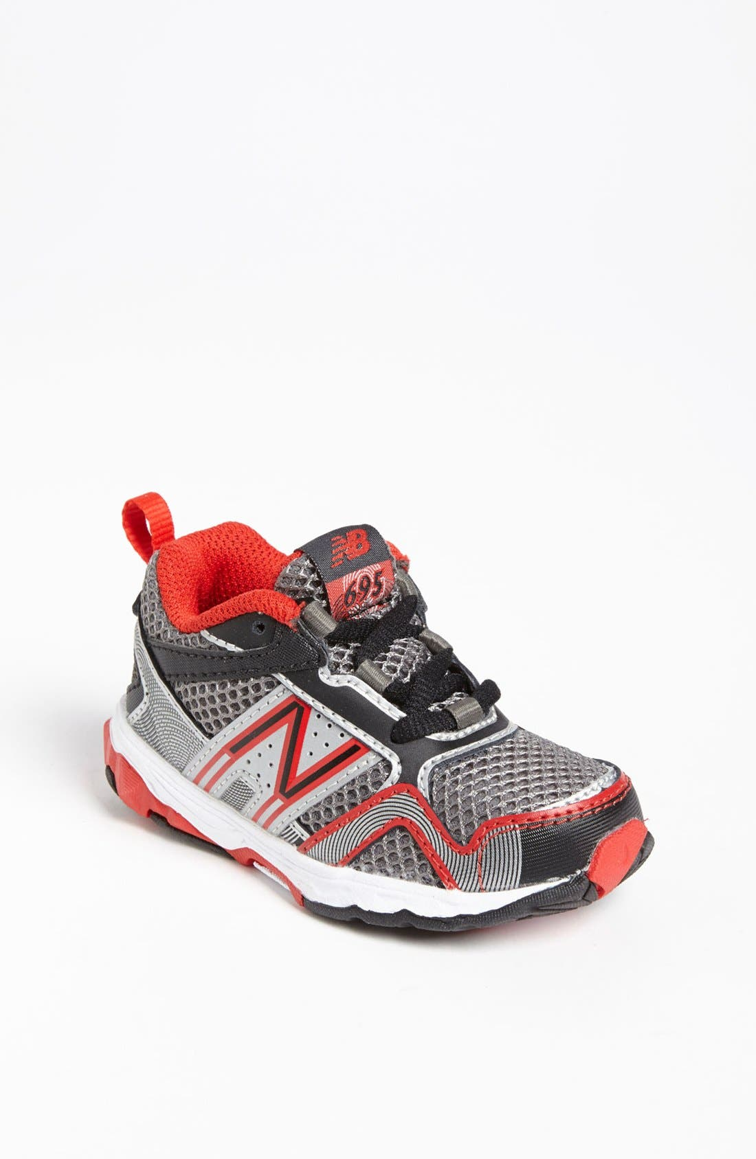 Alternate Image 1 Selected - New Balance '695' Sneaker (Baby, Walker & Toddler) (Online Only)