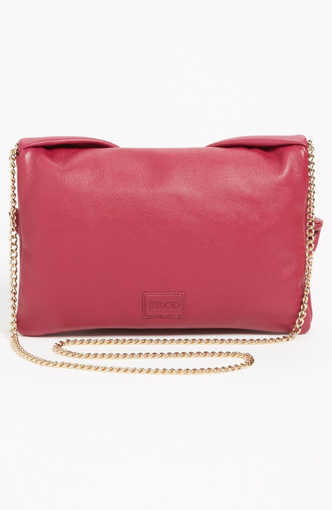 Alternate Image 4  - RED Valentino 'Bow' Leather Clutch
