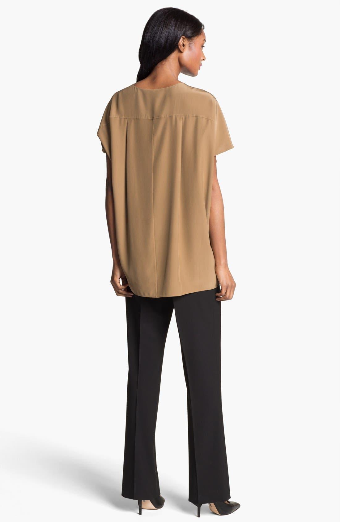 Alternate Image 5  - Lafayette 148 New York 'Kendra' Silk Blouse