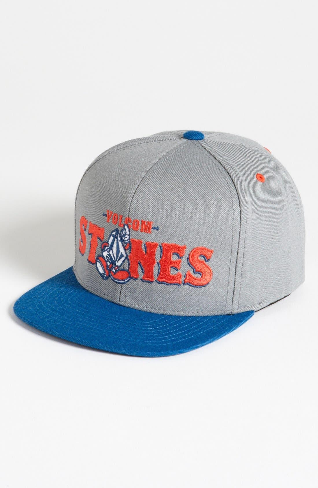 Main Image - Volcom 'Mascot' Snapback Baseball Cap (Boys)