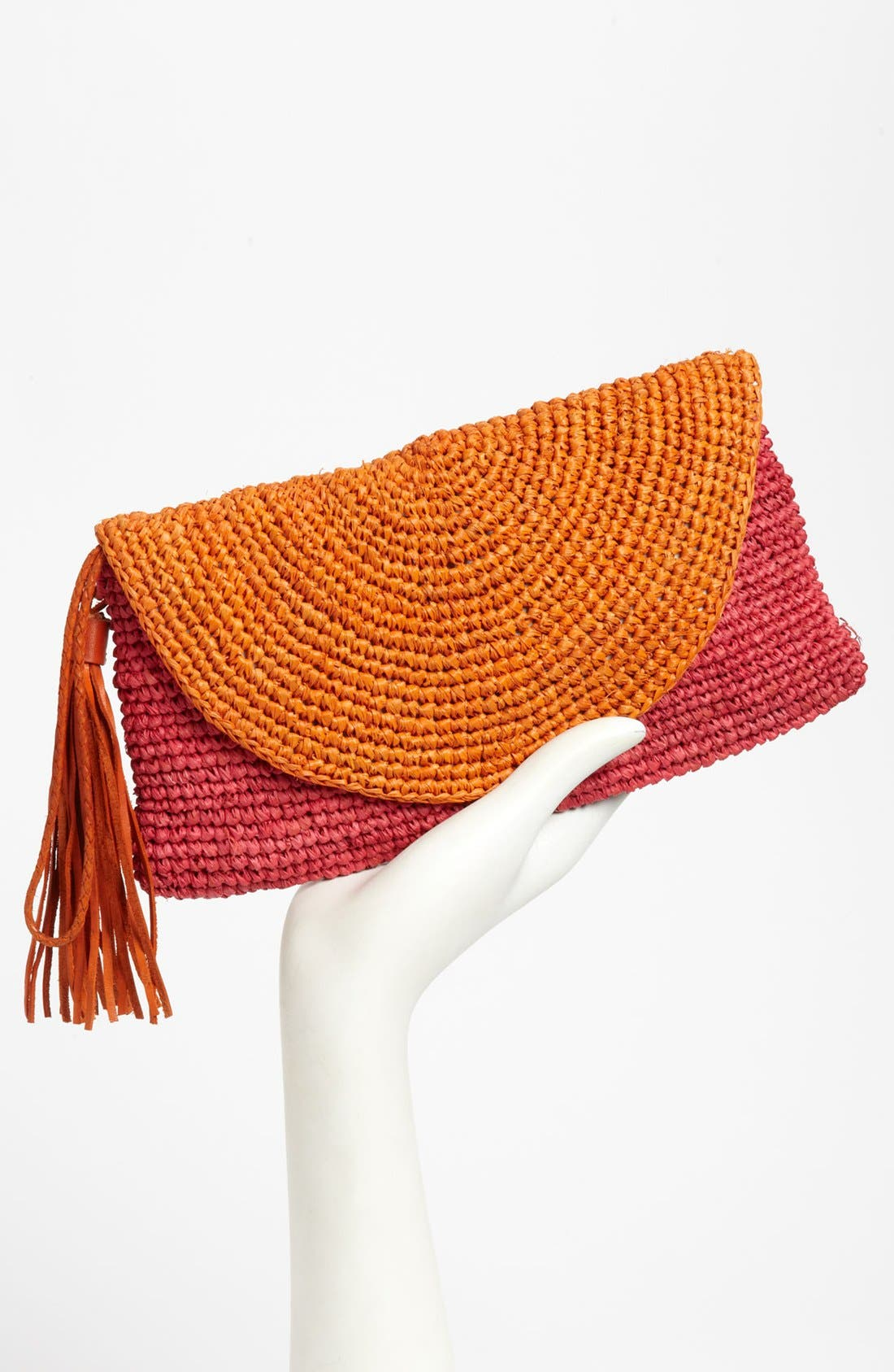 Alternate Image 2  - Mar y Sol 'Camille' Raffia Clutch