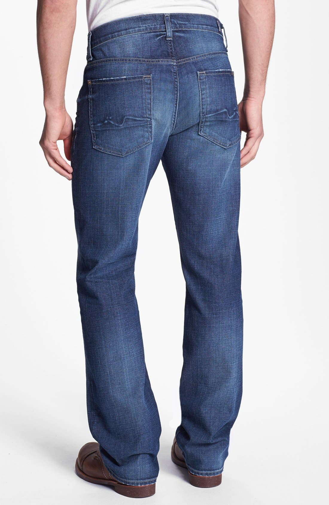 Alternate Image 1 Selected - 7 For All Mankind® 'Austyn' Relaxed Fit Jeans (Deep Creek)