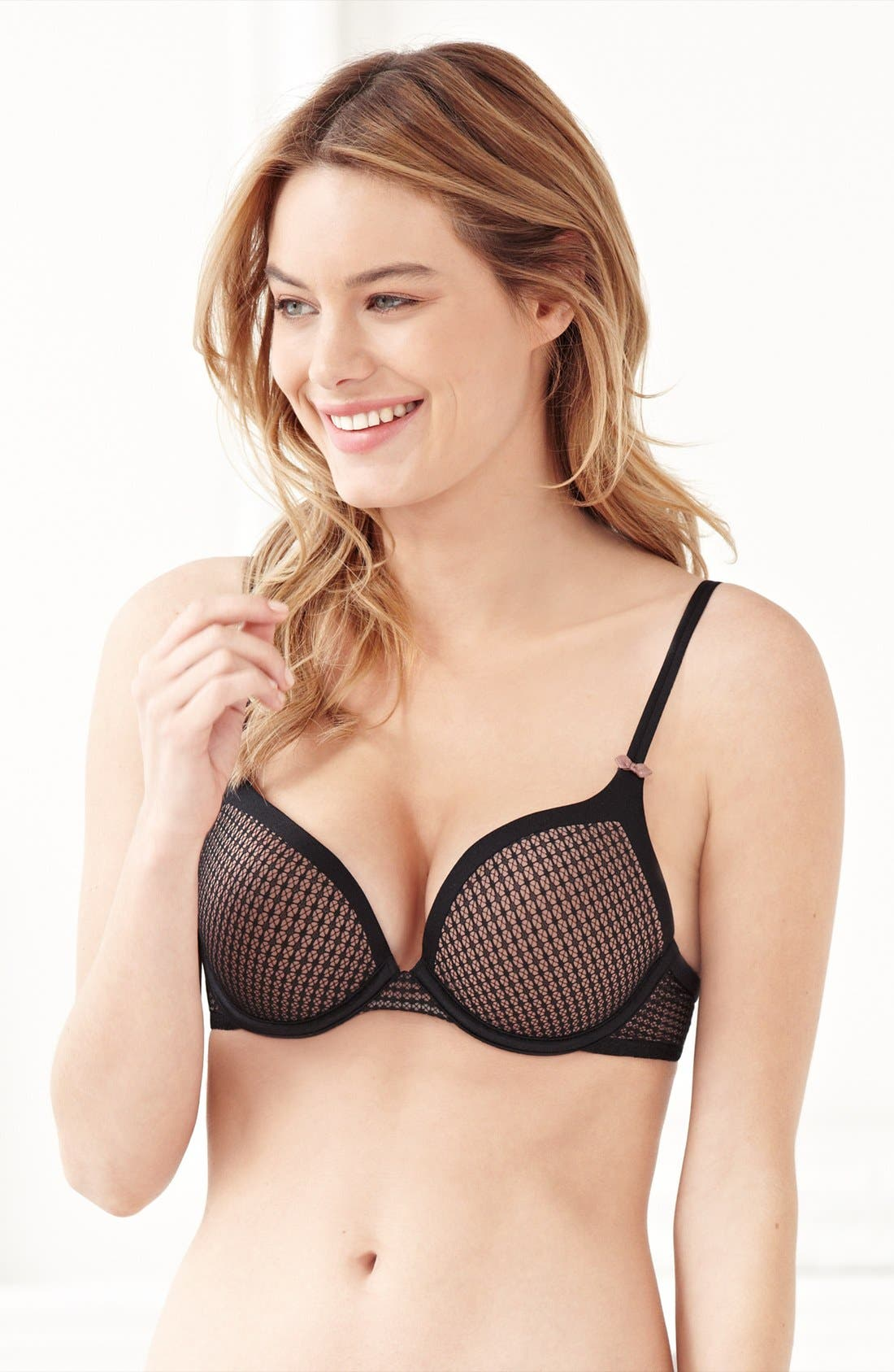 Alternate Image 2  - DKNY 'Super Sleeks' Underwire Push-Up Bra