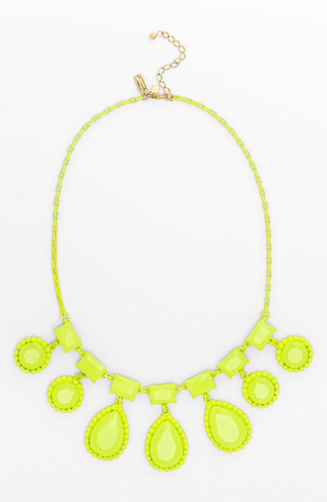 Alternate Image 1 Selected - kate spade new york 'painted jewels' bib statement necklace