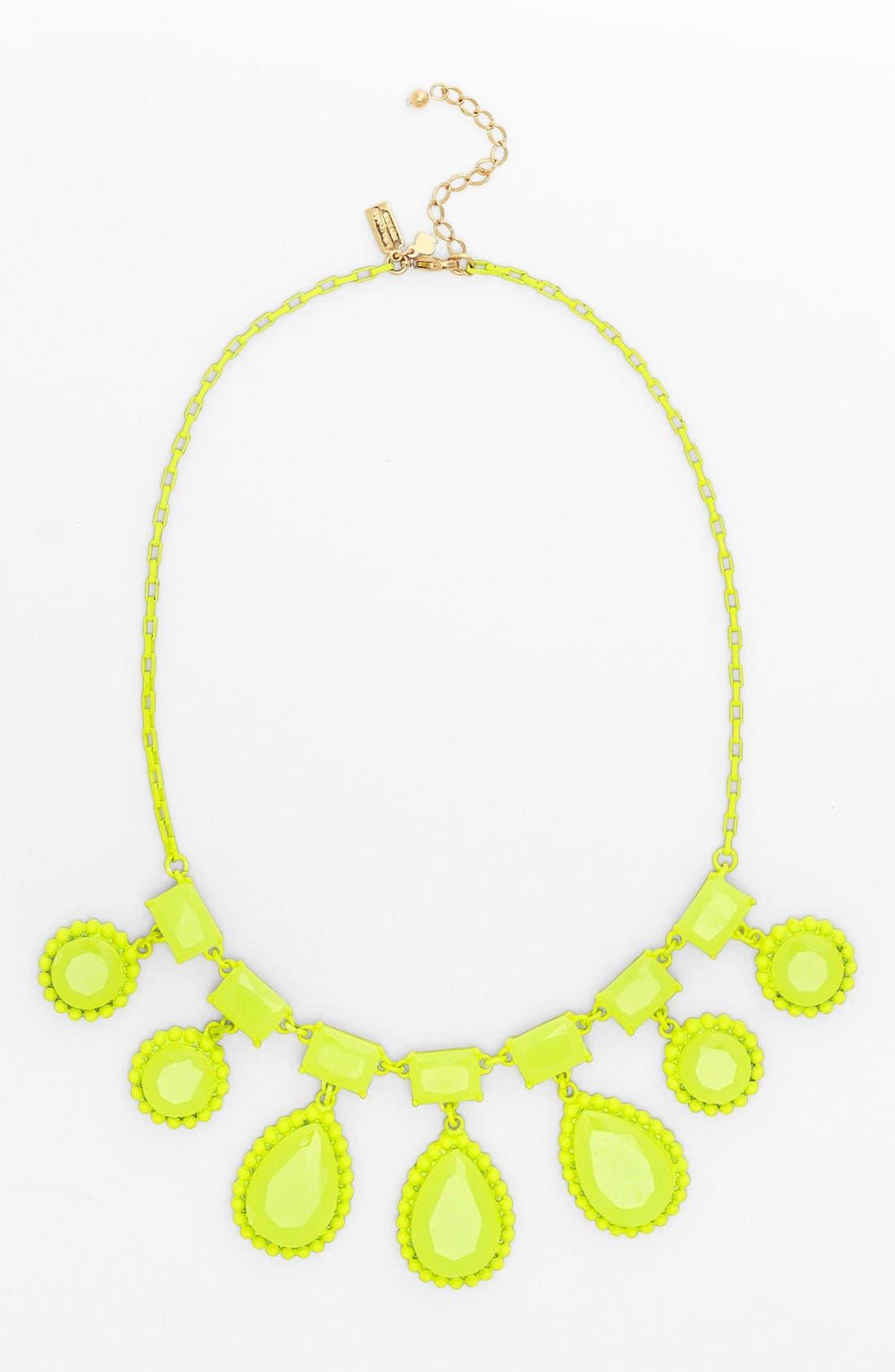 Main Image - kate spade new york 'painted jewels' bib statement necklace