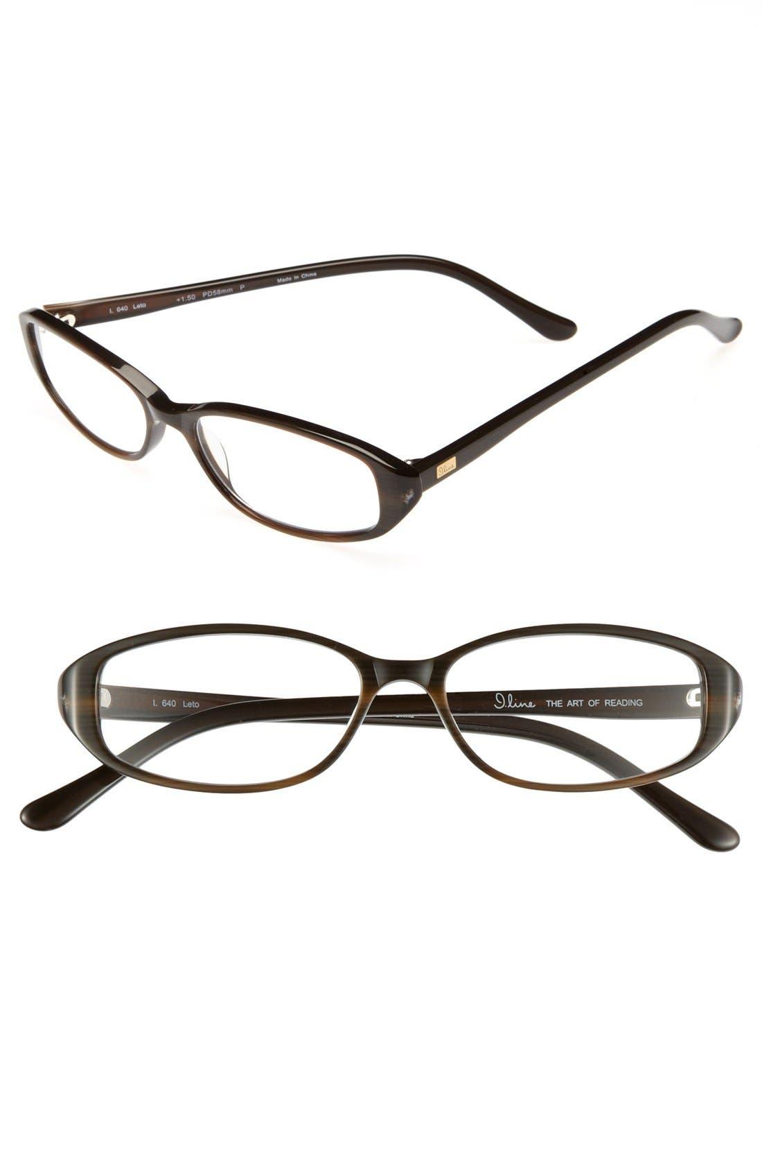 Alternate Image 1 Selected - I Line Eyewear 52mm Reading Glasses